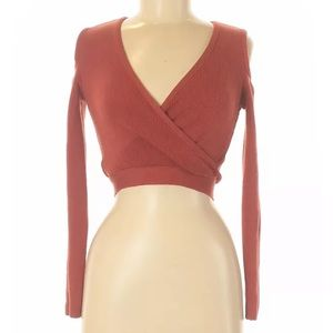 Fashion nova cold shoulder crop top